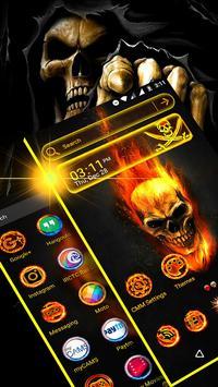 Skull Launcher Theme screenshot 1
