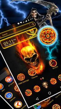 Skull Launcher Theme screenshot 2