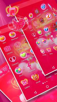 Valentine Day Launcher Theme screenshot 3