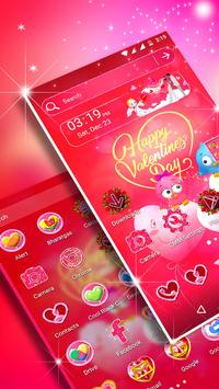 Valentine Day Launcher Theme poster