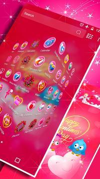 Valentine Day Launcher Theme screenshot 2