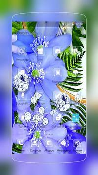 Orchid Flower Diamond Romantic apk screenshot