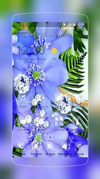 Orchid Flower Diamond Romantic poster