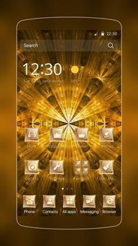 Golden Laser Bright poster