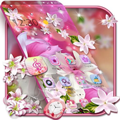 Lily Flower Water Drop icon