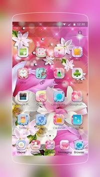 Lily Flower Water Drop apk screenshot