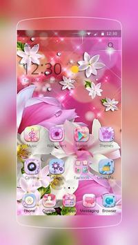 Lily Flower Water Drop screenshot 1