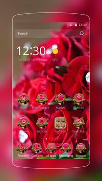 Red Rose Valentine Diamond poster