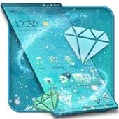 Frozen Blue Iced Diamond Theme icon
