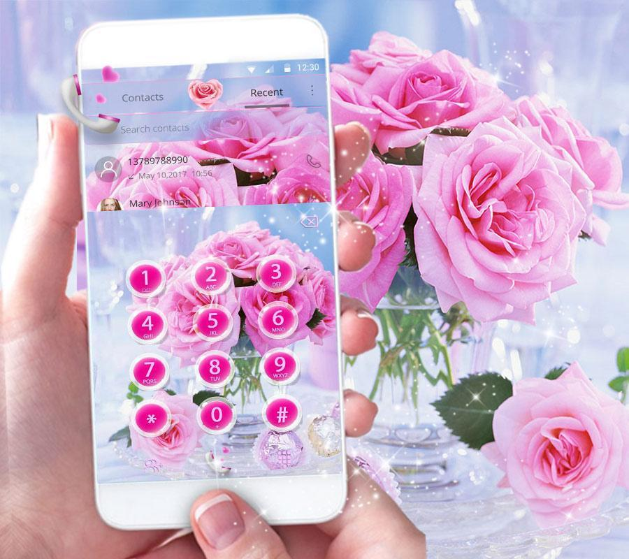 Pink Rose Love Theme for Android - APK Download