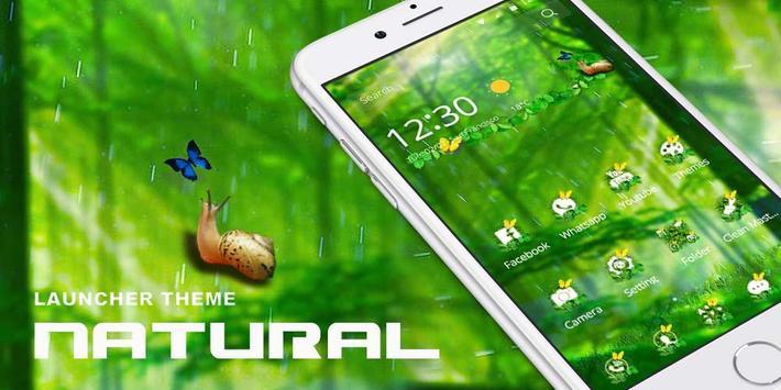 Natural World Theme poster