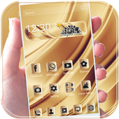 App android Elegant gold Theme Gold deluxe APK offline free