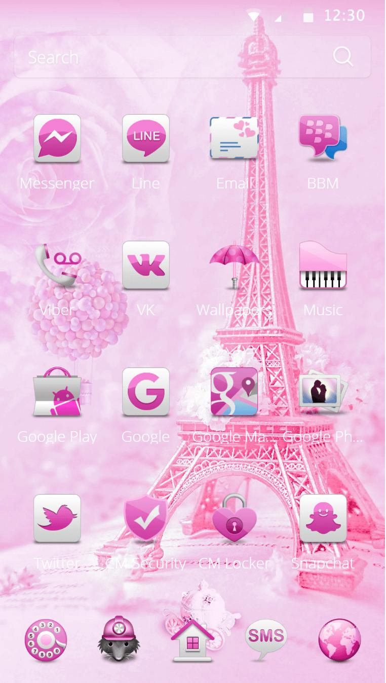 Teddy Paris Eiffel Tower Theme For Android APK Download