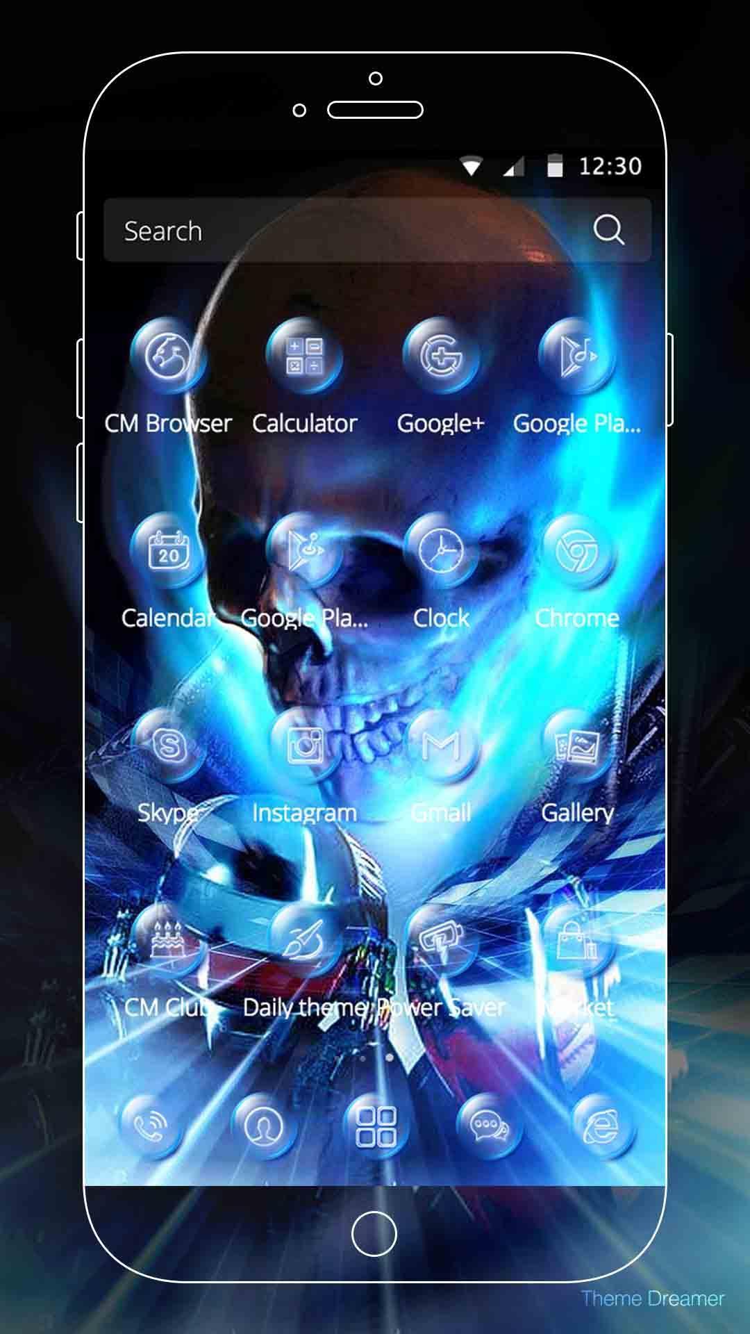 Android 用の 悪魔ライダーテーマの壁紙 Apk をダウンロード