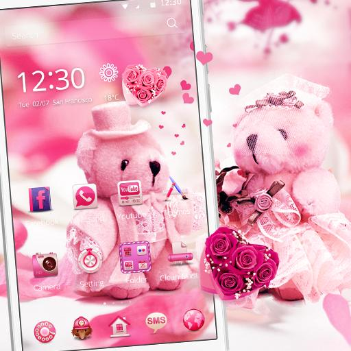 Cute Teddy Bear Theme Love For Android Apk Download