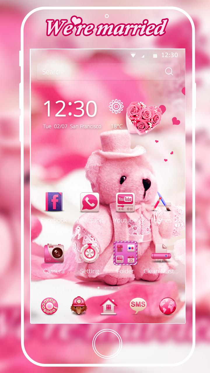 Lucu Boneka Beruang Tema Cinta For Android APK Download