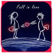 一见钟情爱心主题+手绘卡通壁纸 icon