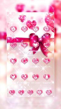 Pink Love Diamond Theme screenshot 3