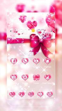 Pink Love Diamond Theme screenshot 1