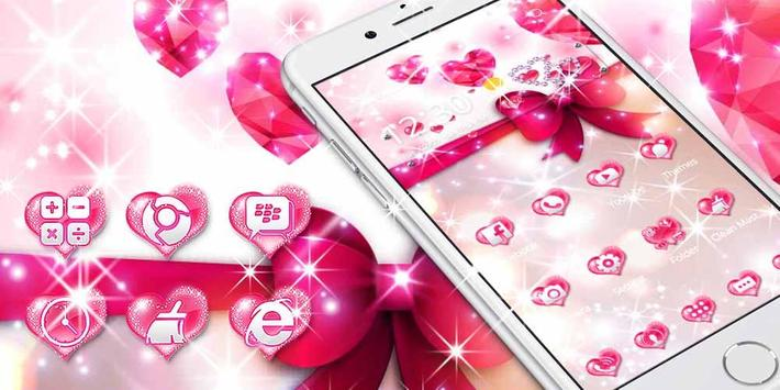 Pink Love Diamond Theme screenshot 2