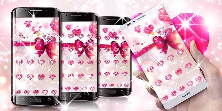 Pink Love Diamond Theme screenshot 4