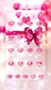 Pink Love Diamond Theme screenshot 5