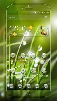 Nature Water Drops Theme screenshot 1