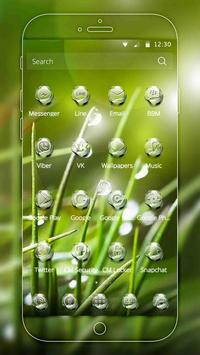 Nature Water Drops Theme screenshot 4