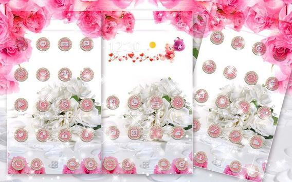 White Rose Theme screenshot 3
