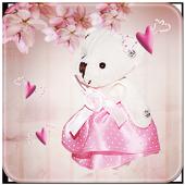 Pink Princess Bear Theme icon
