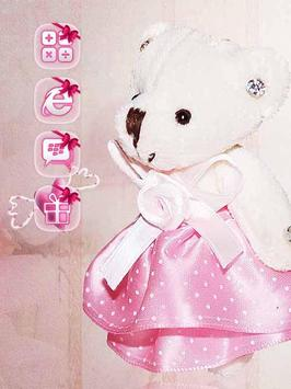 Pink Princess Bear Theme poster
