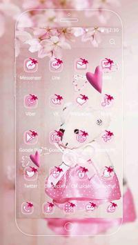 Pink Princess Bear Theme screenshot 4