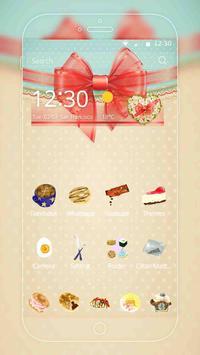 Cute Love Graffiti Theme apk screenshot