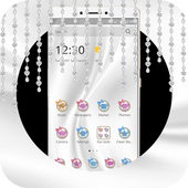 Silver White Jewellery Theme icon