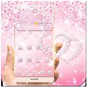 Rose Gold Diamond Theme icon