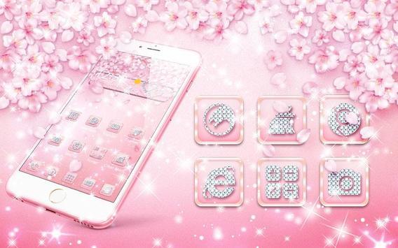Rose Gold Diamond Theme poster