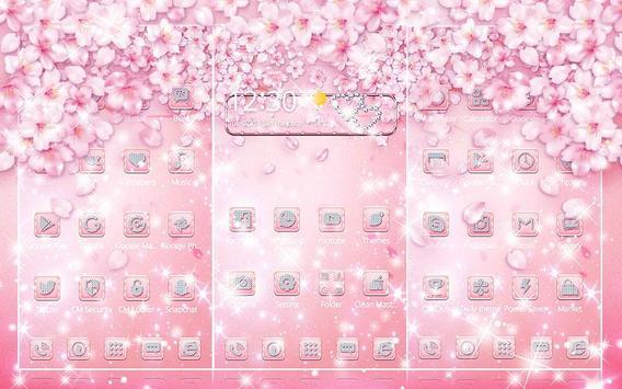 Rose Gold Diamond Theme screenshot 1
