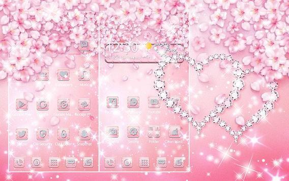 Rose Gold Diamond Theme screenshot 2