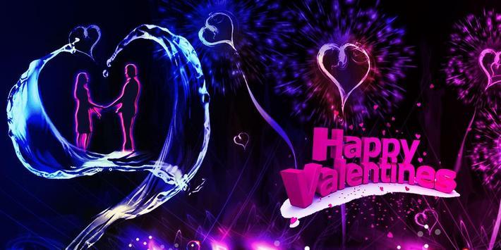 Love Fireworks RomanticTheme apk screenshot