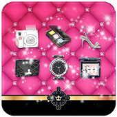 Pink Beauty Theme icon