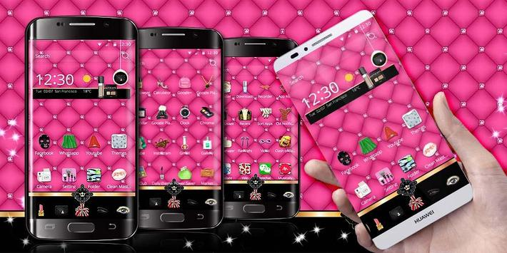 Pink Beauty Theme apk screenshot
