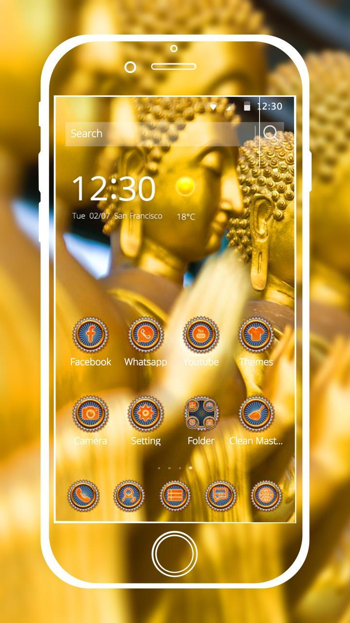 God Theme Buddha golden for Android - APK Download