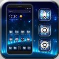 Blue Star Launcher Theme