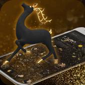 Golden Deer Launcher icon