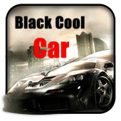 Black Cool Car Theme and Live wallpaper icon