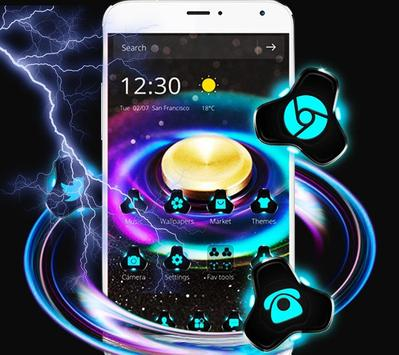 Fidget Spinner Dazzle Colorful Theme screenshot 1