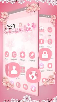 Pink Flowers screenshot 2