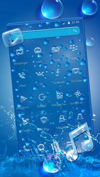 Rainy Water Drop Theme screenshot 1