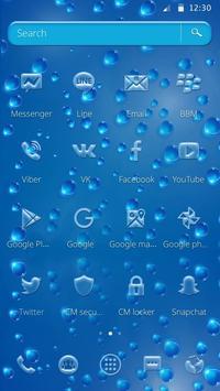 Rainy Water Drop Theme screenshot 2