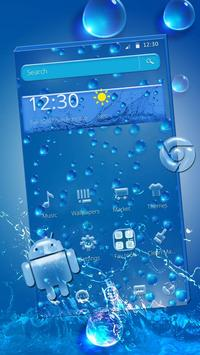 Rainy Water Drop Theme screenshot 4